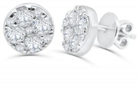 1.75ct. Diamond Earring in 18K Gold