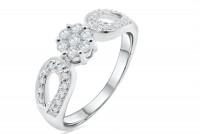 0.46ct. Diamond Ring in 18K Gold