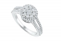 0.75ct. Diamond Ring in 18K Gold